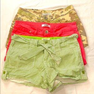 Bundle Shorts Size Small